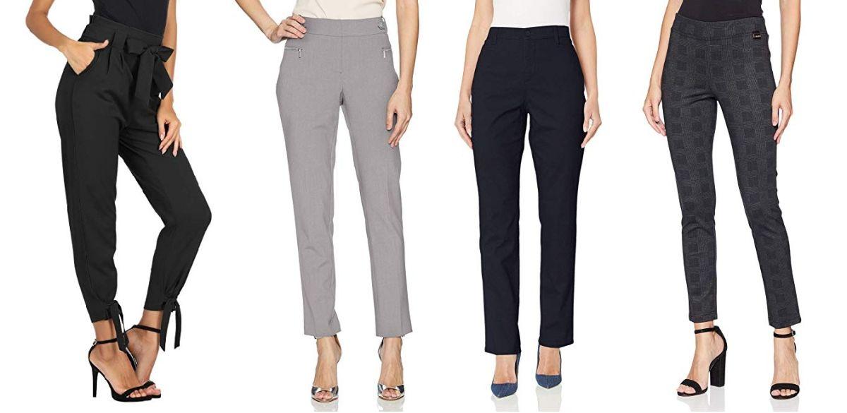 5 Pantalones De Vestir Con Cintura Alta Para Todo Tipo De Cuerpo La Opinion