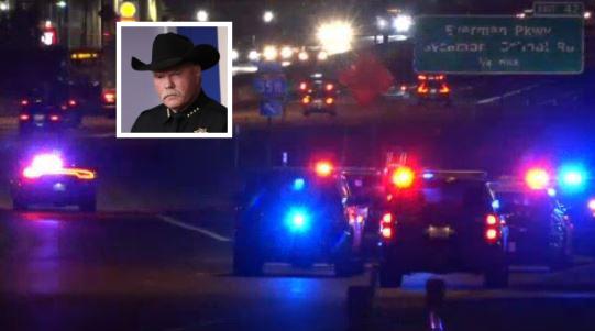 El hijo del sheriff ya cargaba con un historial de arrestos previo.