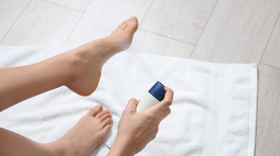 antimicótico natural para los pies