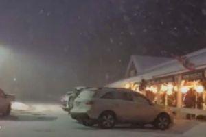 Segunda tormenta de nieve con frío ártico en pleno otoño ya afecta varias zonas de Estados Unidos
