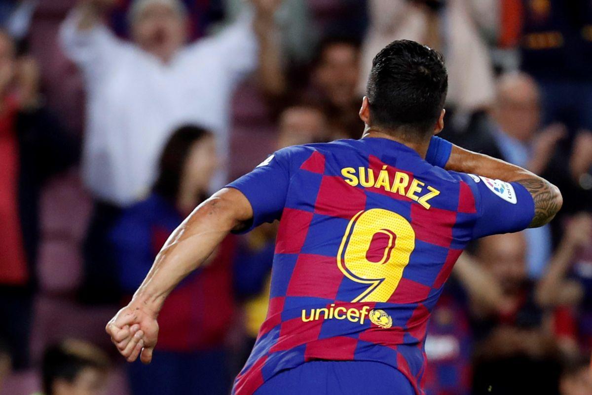 Luis Suárez hizo época en el Barcelona.