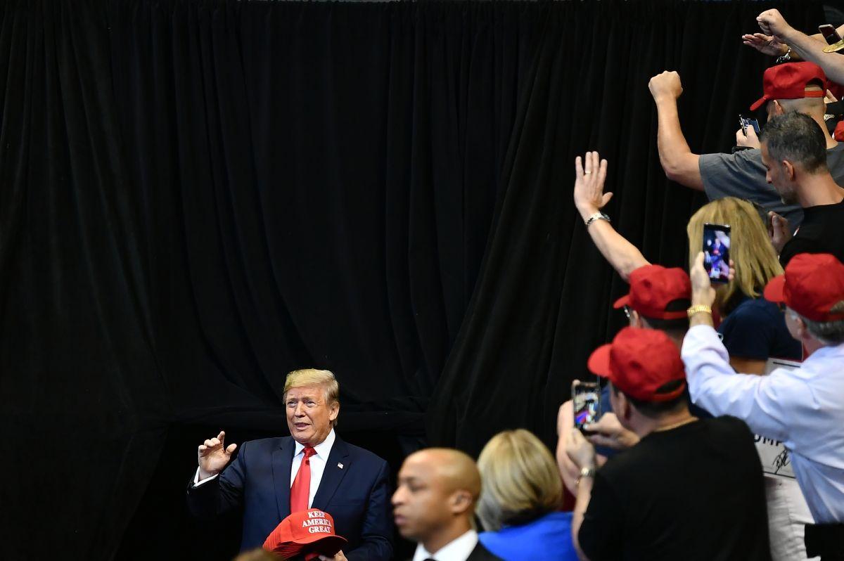 Podría ser un discurso de Acción de Gracias pero se convirtió en una descarga de ira de Trump