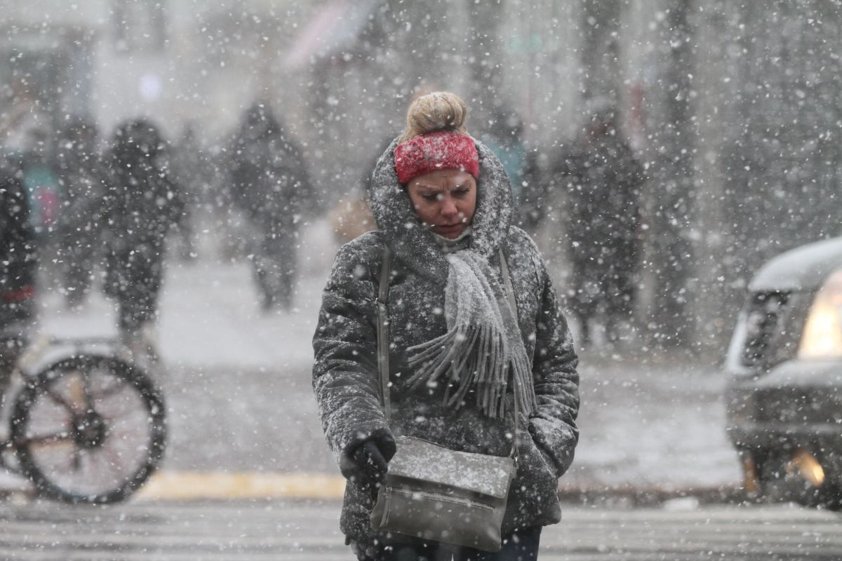 En Nueva York, podría caer nieve entre domingo y lunes.