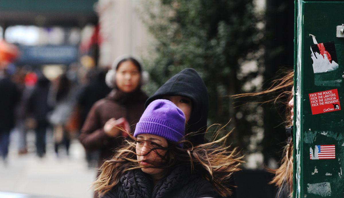 Las temperaturas bajas continúan en estados como Nueva York.