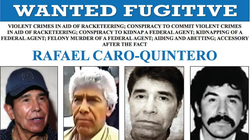 Quién es Rafael Caro Quintero, y por qué Estados Unidos quiere confiscarle sus bienes