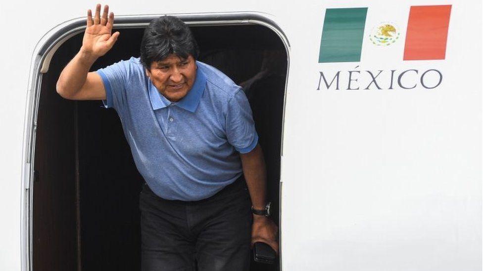 Evo Morales pidió asilo en México.