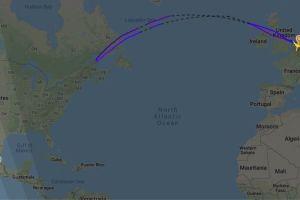Popocatépetl: por qué un vuelo de KLM a Ciudad de México tuvo que cruzar dos veces el Atlántico y regresar a Ámsterdam