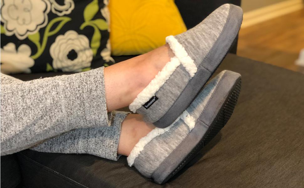 Las 5 mejores pantuflas acolchadas para estar cómoda en casa