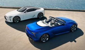Primeras fotos oficiales del Lexus LC Convertible