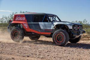 Aparecen más imágenes de la Ford Bronco de tamaño completo