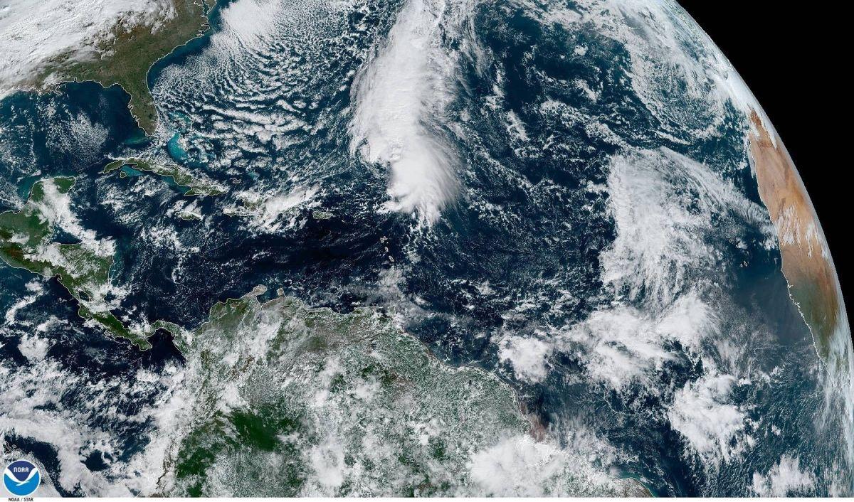 Tormenta Sebastien se hace fuerte en el Caribe y puede convertirse en huracán