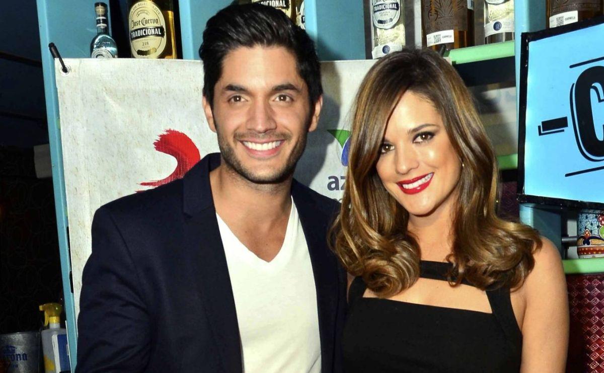Daniel Elbittar junto a a su pareja la actriz Sabrina Seara.