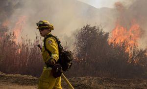 Trump amaga con cancelar ayuda contra incendios a California; acusa a Gavin Newsom de permitir siniestros