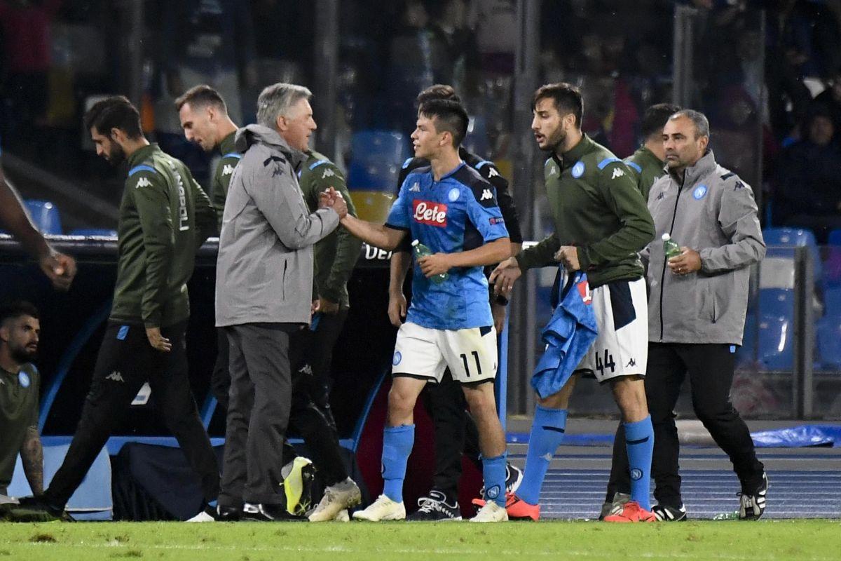 Un 'Chucky' inspirado busca hacer que Napoli vuelva a ganar