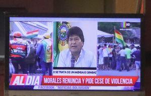 """Volveré"": Evo Morales anuncia su partida a México tras renunciar como presidente de Bolivia"