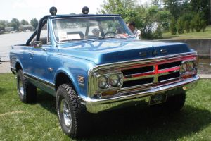 Mira la Chevrolet Blazer K5 1971 que los Ringbrothers modificaron para el rapero Future