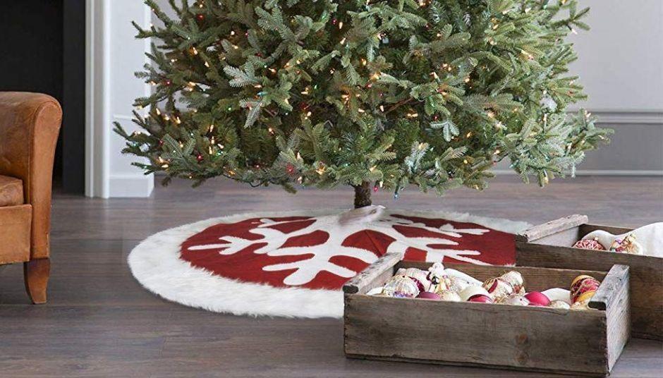 Navidad 2019: Las mejores faldas de árbol de navidad por menos de $30