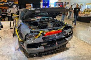 Por qué este Dodge Challenger chocado fue la estrella del SEMA show