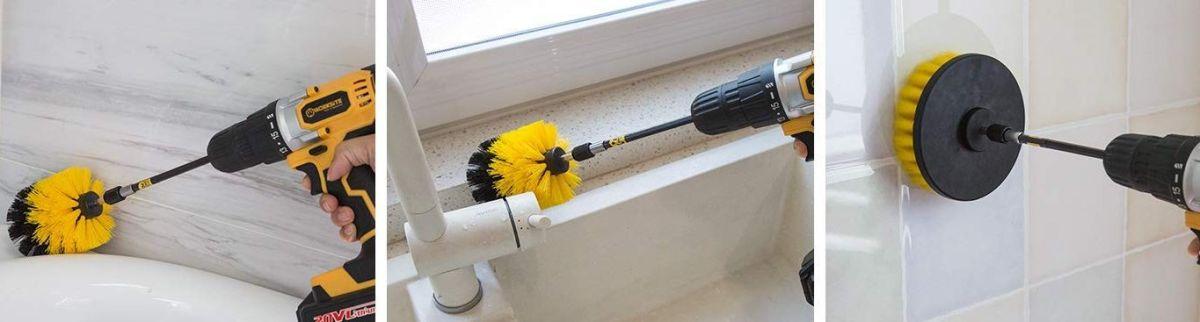 Los 3 mejores cepillos para limpiar el baño fácil y rápido