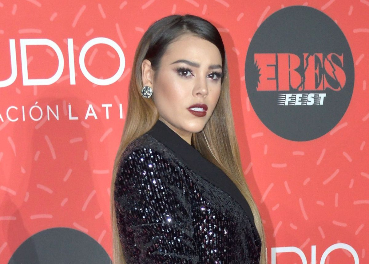 """Danna Paola causa polémica en redes sociales tras imitar a Paulina Rubio y asegurar: """"Yo si canto"""""""