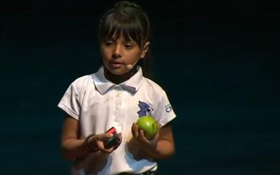 La niña mexicana que tiene un IQ más elevado que Einstein y Stephen Hawking
