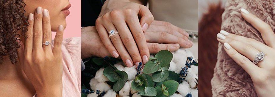 Los 5 mejores anillos de compromiso por menos de $100 para sorprender a tu pareja