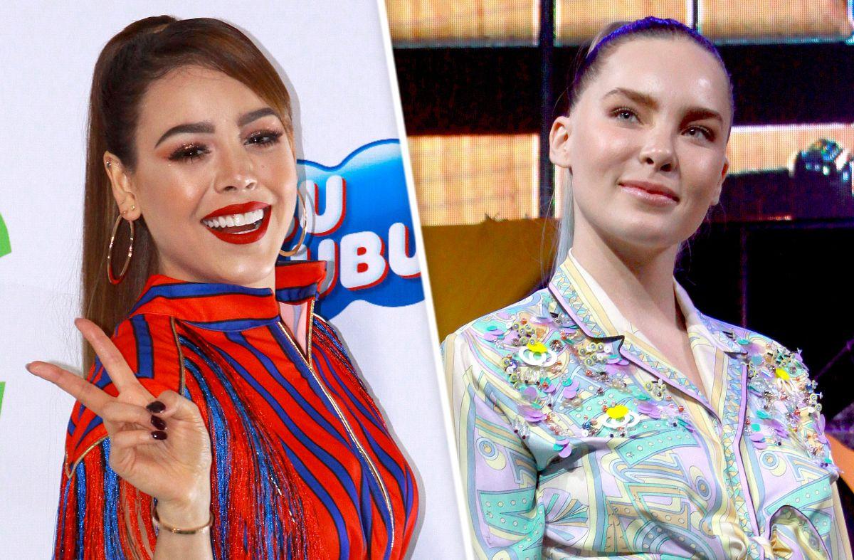 ¡OMG! Belinda y Danna Paola comparten el mismo outfit en redes sociales ¿Coincidencia?