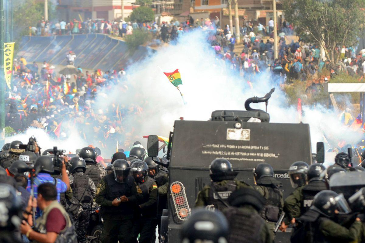CIDH: Suman 23 muertos en protestas en Bolivia