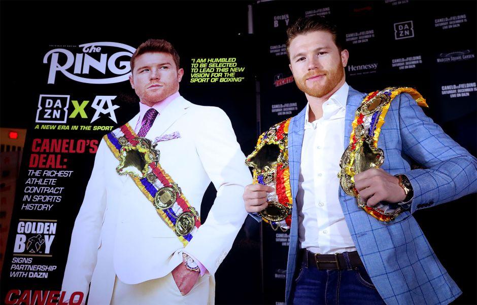 La 'Biblia del Boxeo' premia a Canelo Álvarez, pero eso es muy especial para otra figura del deporte
