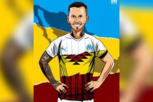 Olympique felicita a los mexicanos por el Día de la Revolución Mexicana, con una imagen de Pipa Benedetto, que es argentino