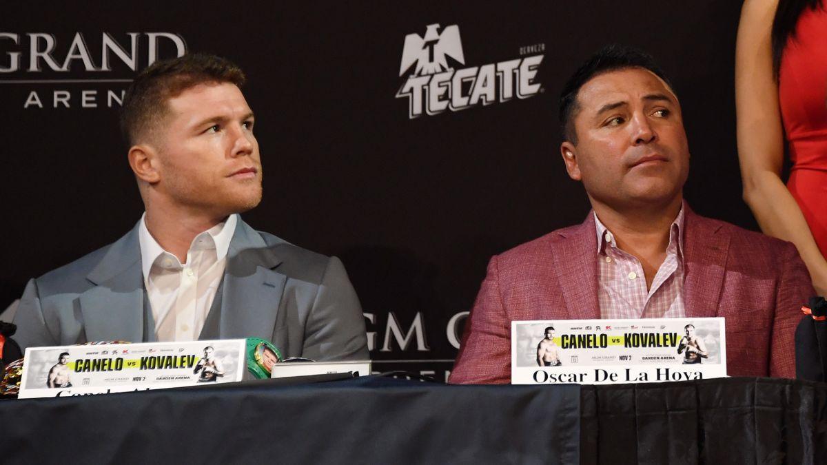 De la Hoya habló maravillas de 'Canelo', dijo que es el mejor boxeador mexicano