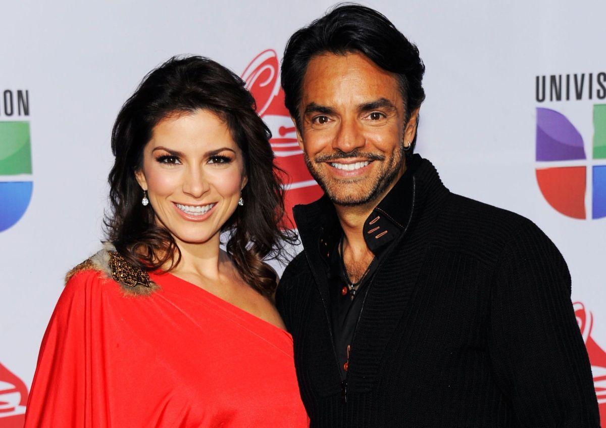 Alessandra Rosaldo y Eugenio Derbez.