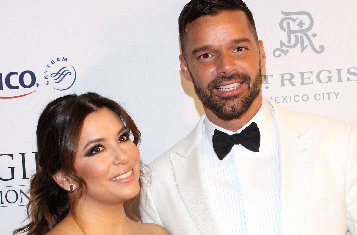 Eva Longoria y Ricky Martin.