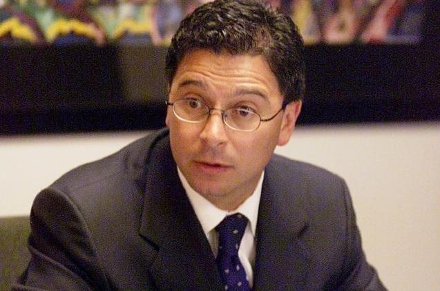 Fabián Núñez, uno de los líderes detrás de la megamarcha contra la Proposición 187