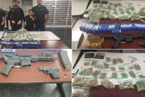 Texas: Oficiales responden a un asalto de repartidor de pizzas y decomisan armas, dinero y marihuana
