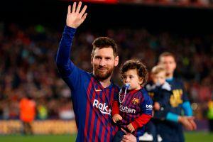 VIDEO: Lionel Messi como nunca lo habíamos visto al lado de su hijo Ciro