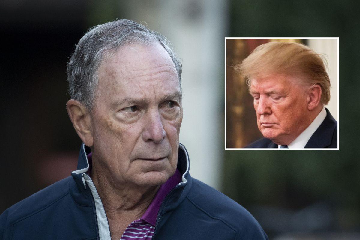 ¿Por qué teme Trump del millonario candidato demócrata Mike Bloomberg?
