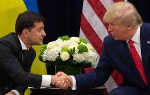 Impeachment: Casa Blanca publica transcripción de otra llamada de Trump a Ucrania