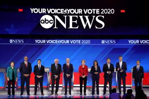 Debate demócrata: Pete Buttitieg en la avanzada junto a Biden, Warren y Sanders