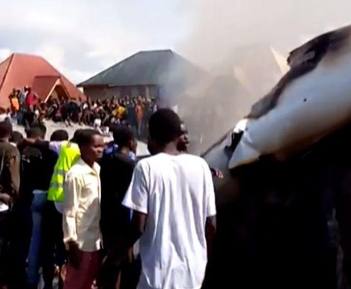 Accidente aéreo en Congo.