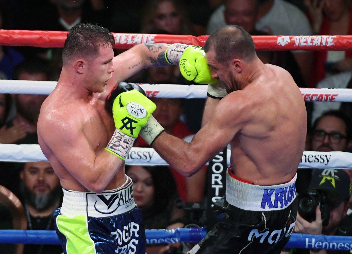 """""""Canelo"""" aún espera rival para mayo, nuevamente para pelear en Las Vegas,"""