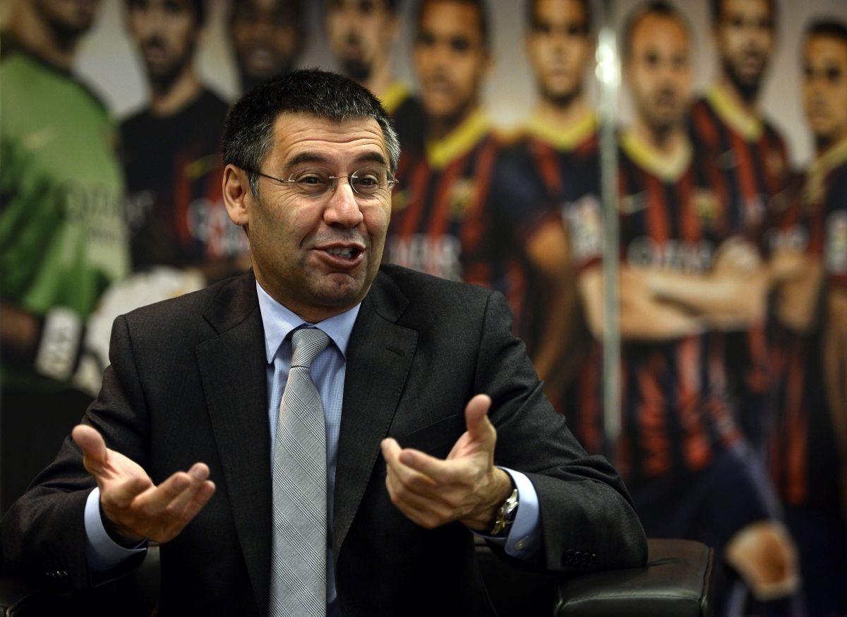 Josep Bartomeu, presidente del FC Barcelona.