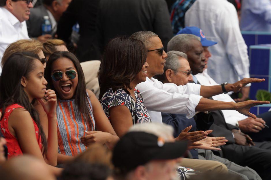Así es el vestido de graduación de Sasha Obama, del que todos hablan