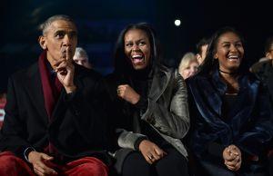 Michelle Obama comparte una foto familiar y todos admiran la sensual belleza de Sasha Obama
