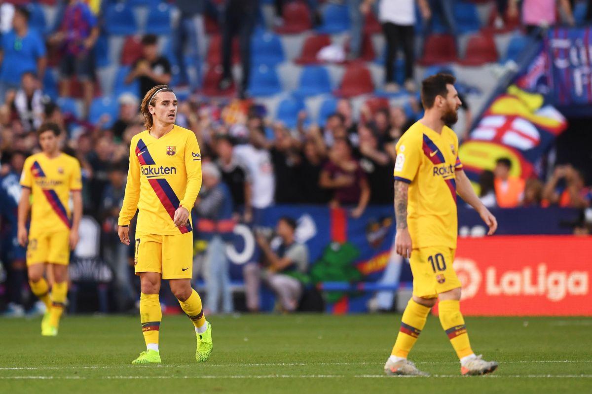 El sueño se convirtió en pesadilla: Griezmann y Messi son como desconocidos en la cancha