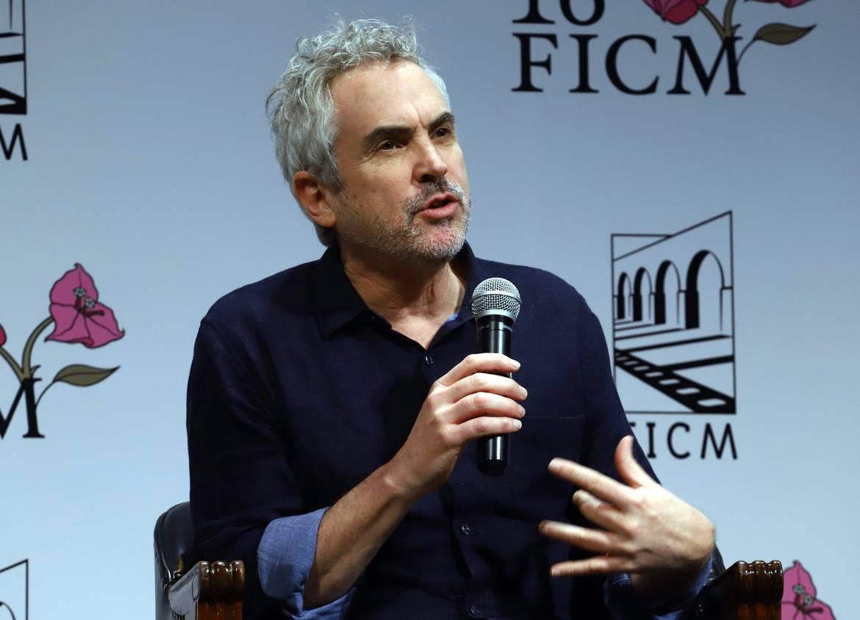 El cineasta mexicano Alfonos Cuarón recibe homenaje en Los Ángeles