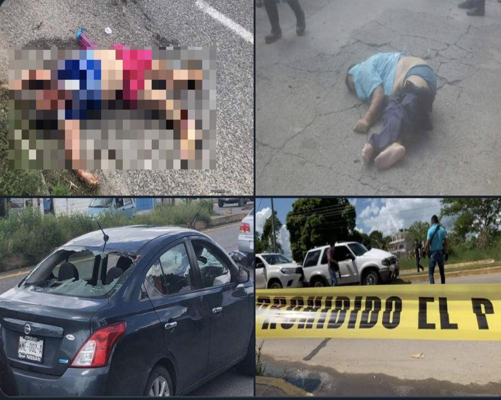 Huachicoleros huyen de policías; atropellan y matan a dos personas durante persecución