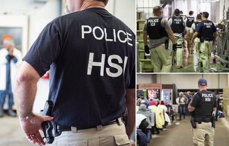 Los 400 inmigrantes detenidos por ICE acusados de robar identidades de estadounidenses