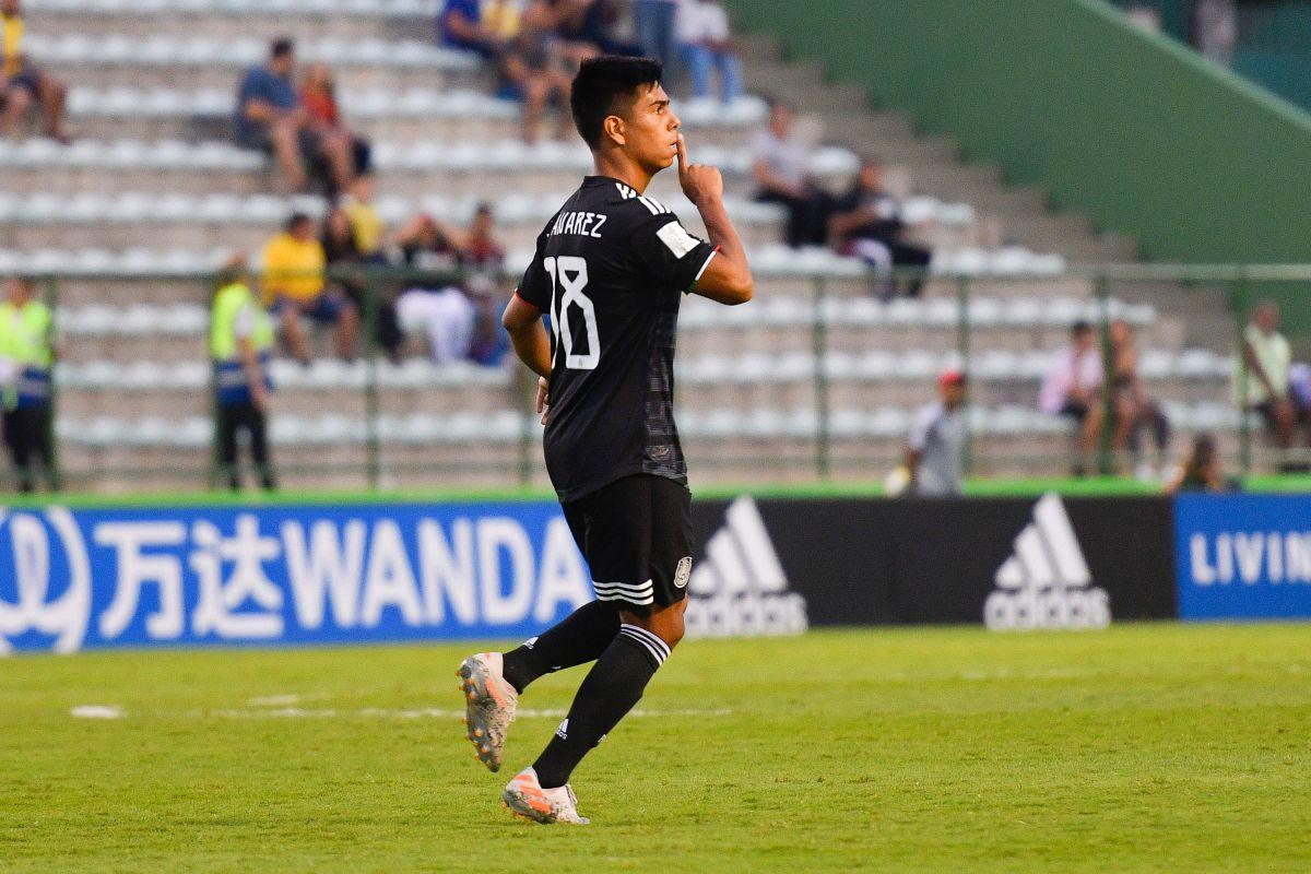 Golazo de Efraín Álvarez para empate 1-1 de México a Holanda en Mundial Sub 17