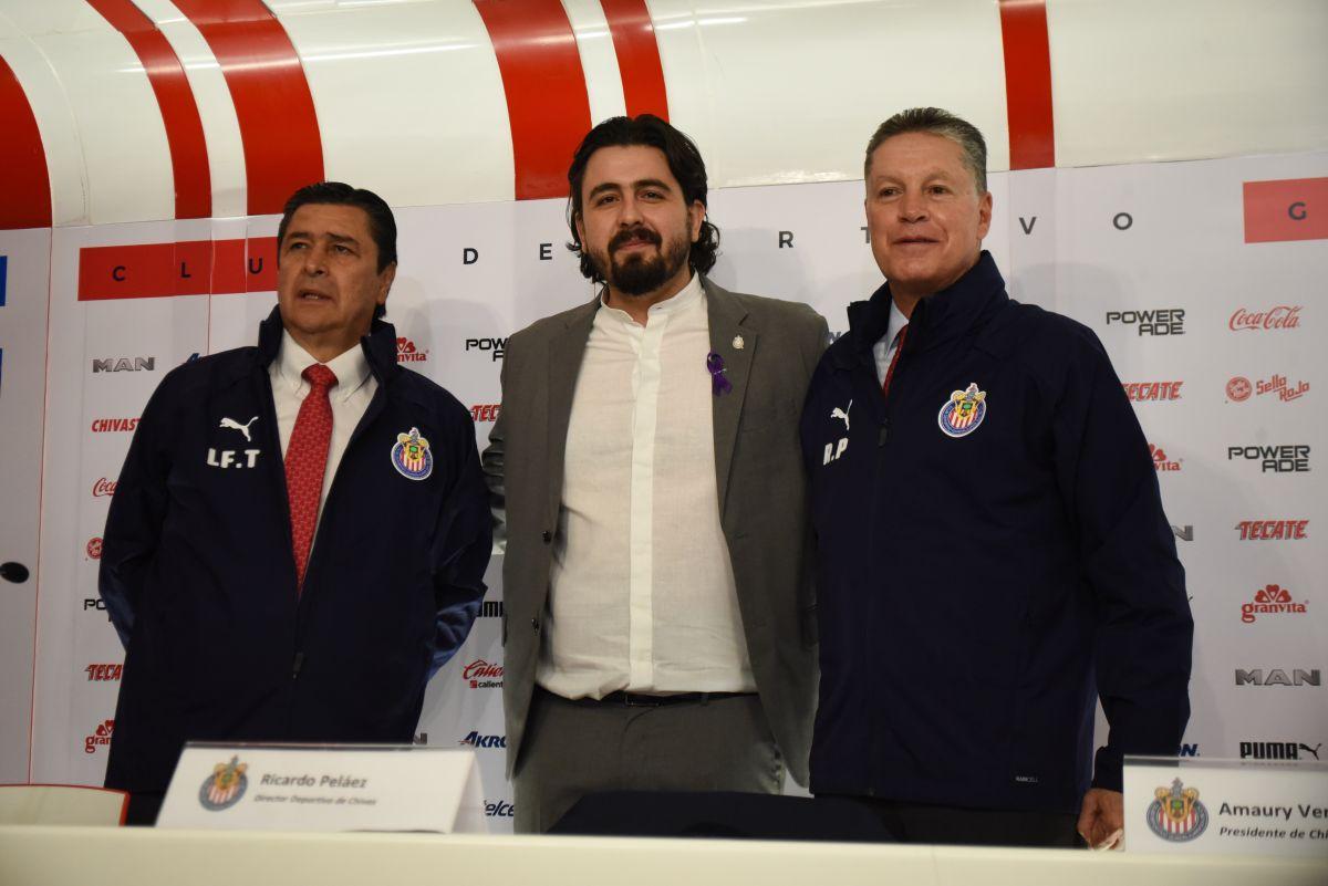 Ricardo Peláez fue presentado oficialmente en Chivas ¡y ya habló de liguillas y títulos!